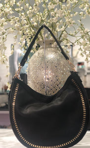 CHIC MODERN CHAINED HOBO BAG