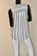 SLVLS HIGH AND LOW STRIPED TOP