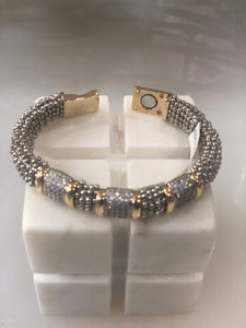 BEST DIAMOND GOLD & SILVER BRACELET