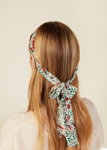 SCARF PONYTAIL HEADBAND