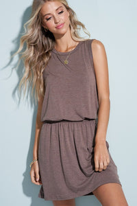 CASUAL LIGHTWEIGHT MINI DRESS