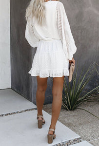 EMBELLISHED SHORT DRESS