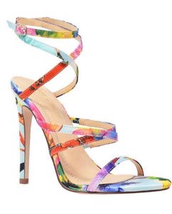 HIGH HEELS MULTI CRESS CROSS OPEN TOE