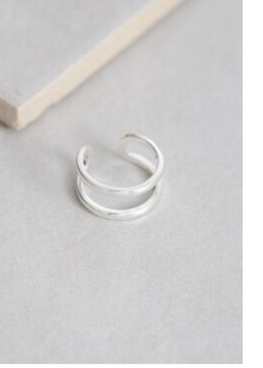 LATERAL RING IN SILVER