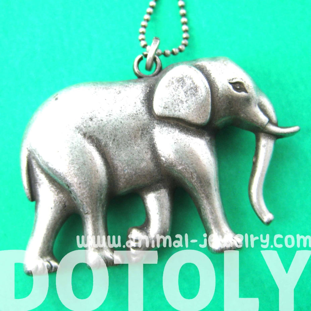 shop live two tone dogeared large necklace image rack elephant of product nordstrom