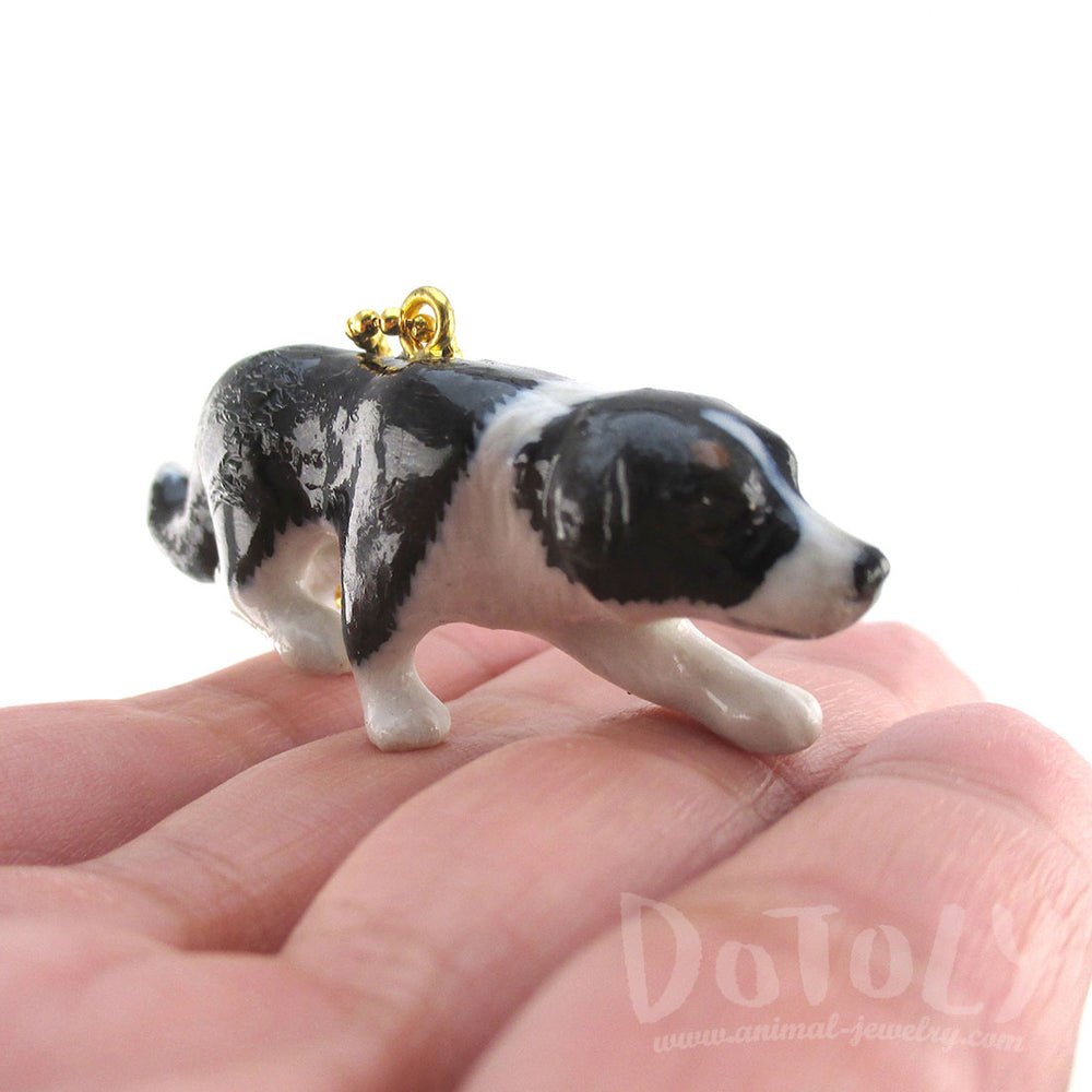 Border Collie Necklace for Dog Lovers by DOTOLY
