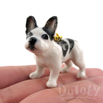 3D Frenchie Necklace for Dog Lovers by DOTOLY