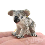 3D Porcelain Koala Bear Cub Shaped Ceramic Pendant Necklace