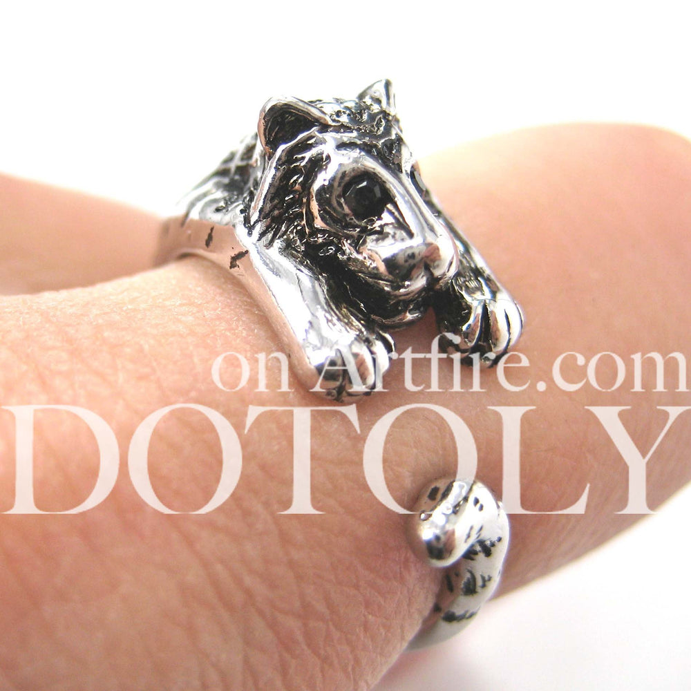 realistic-tiger-animal-wrap-ring-in-shiny-silver