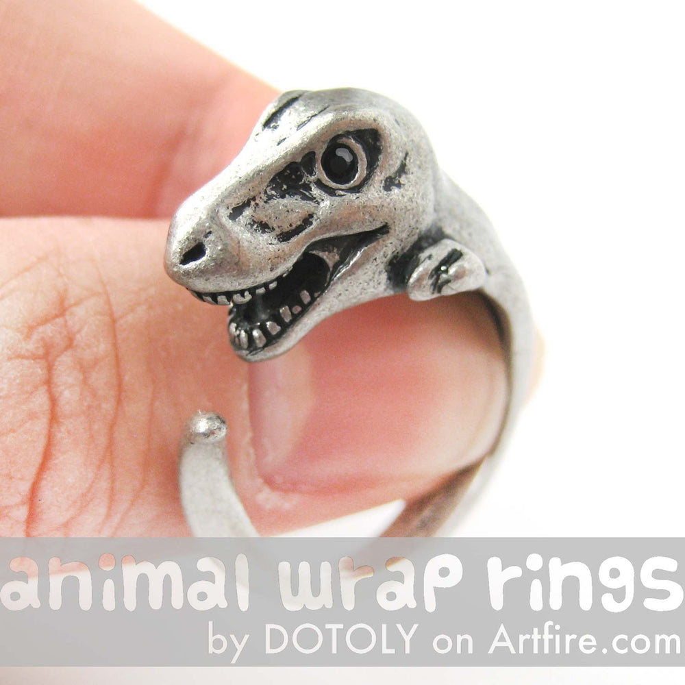 dinosaur unconventional wedding ring engagement non elegant rings of diamond alternative bone