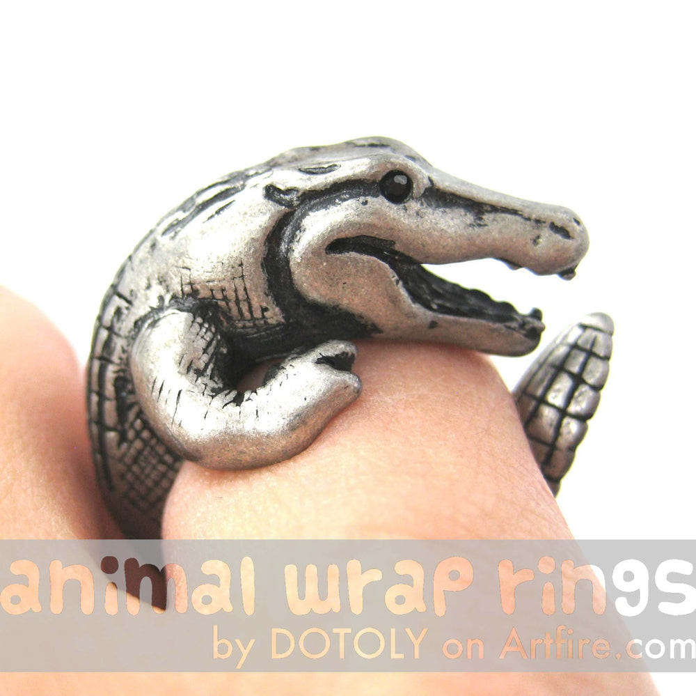 crocodile-alligator-dragon-animal-wrap-ring