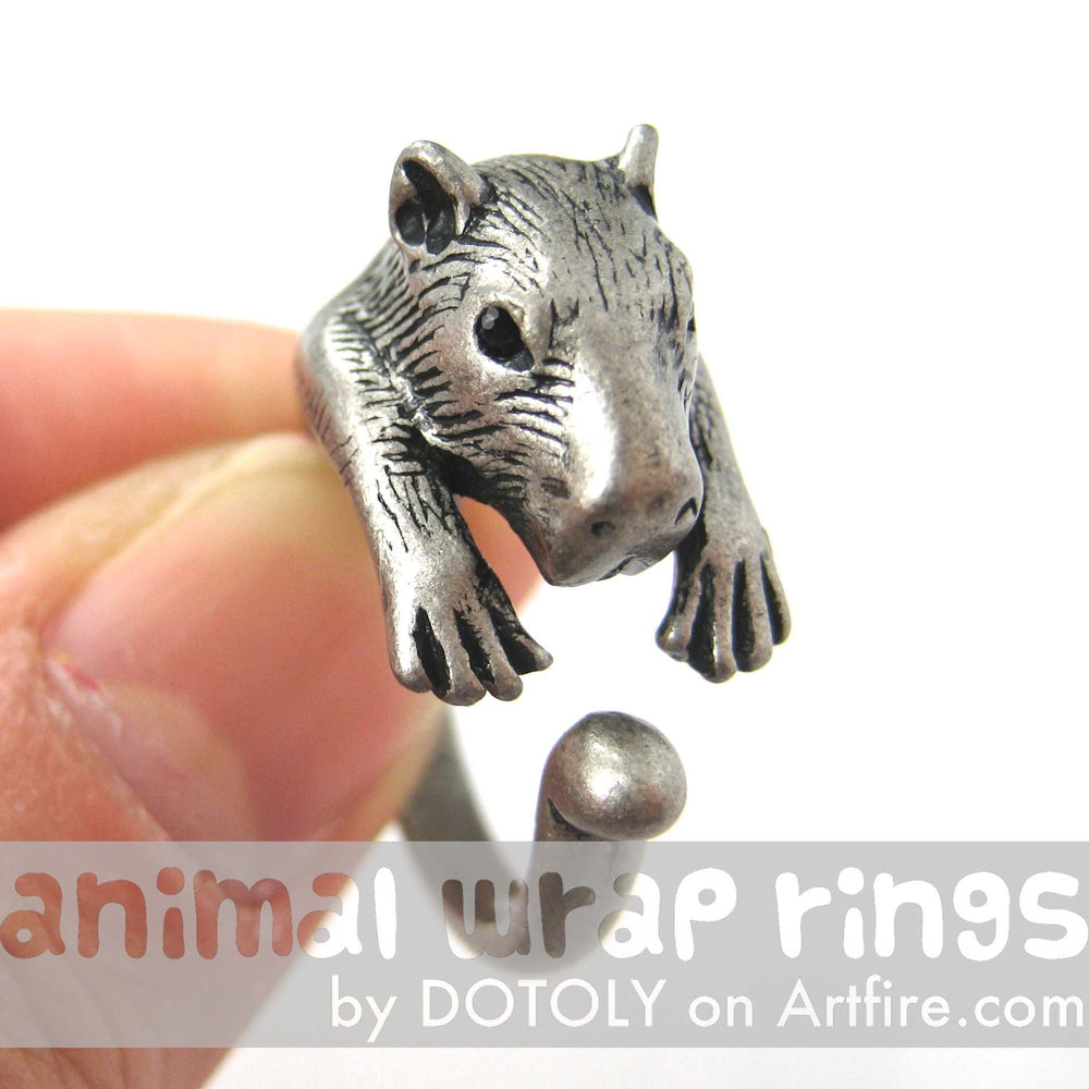 capybara-wombat-animal-ring