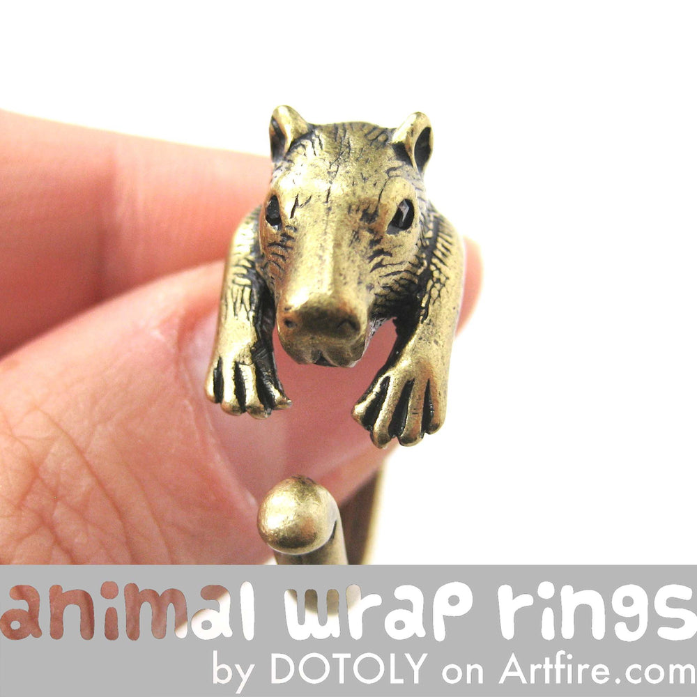 capybara-wombat-animal-ring-in-brass