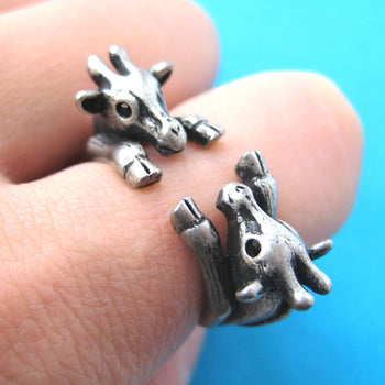 double-giraffe-animal-ring-silver