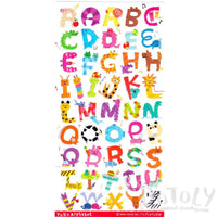 Adorable Animal Shaped Alphabet Typography Stickers for Scrapbooking and Decorating | DOTOLY