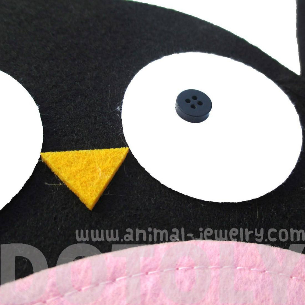 Adorable Baby Owl Shaped Animal Themed Cross Body Bag for Kids in Felt | DOTOLY