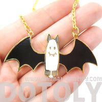 Adorable Bat Shaped Animal Cartoon Pendant Necklace | Limited Edition | DOTOLY