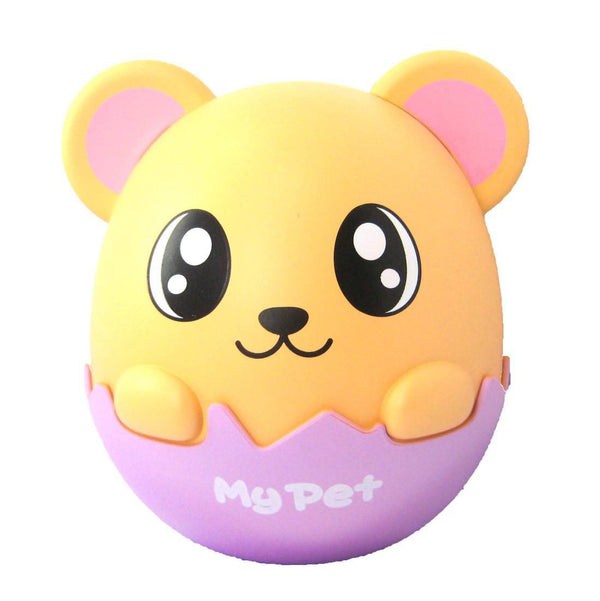 Adorable Hamster Gerbil Mouse Egg Shaped Money Box Piggy Coin Bank | DOTOLY | DOTOLY