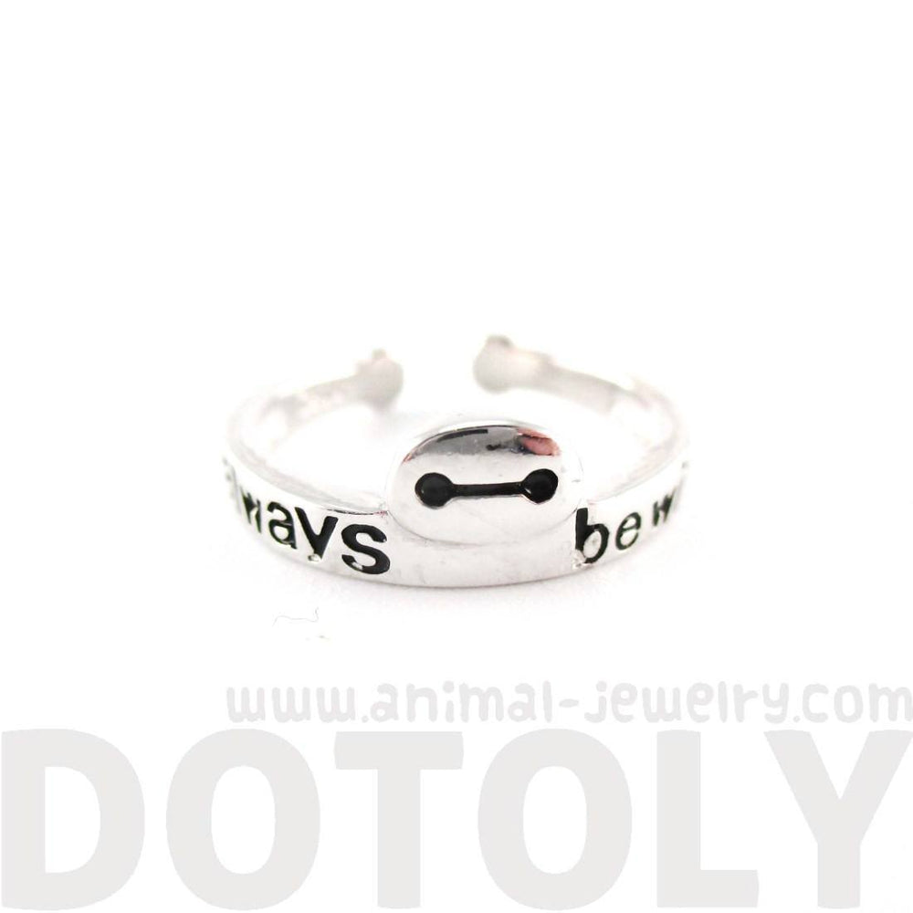 Big Hero 6 Baymax I'll Always Be With You Quote Ring | DOTOLY | DOTOLY