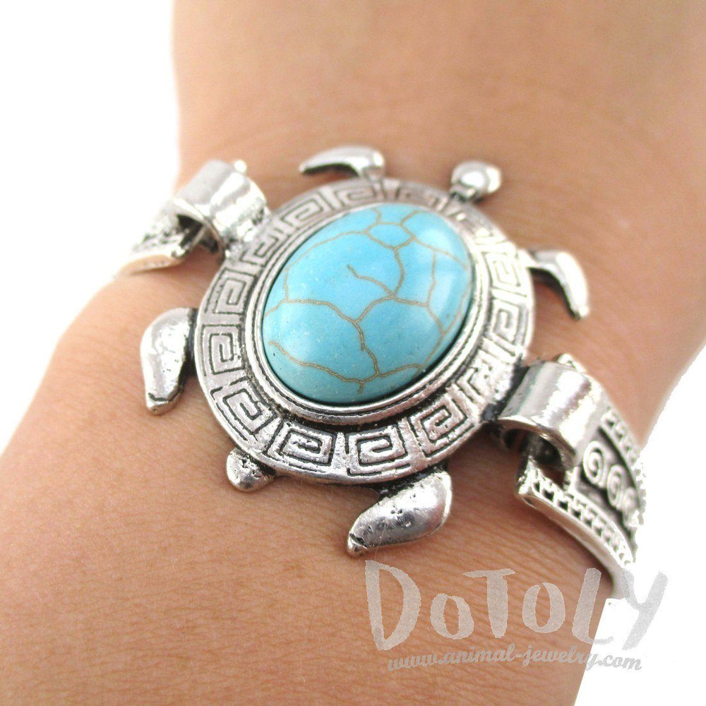 turtle sea wholesale bracelet silver green