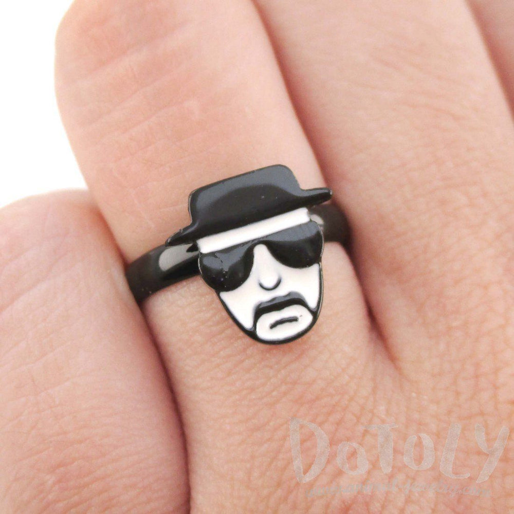Breaking Bad Walter White Heisenberg Kingpin Adjustable Ring | DOTOLY | DOTOLY