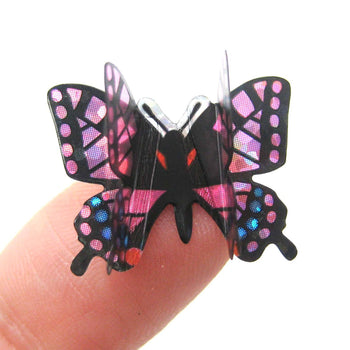 Butterfly Shaped 3D Insect Pop-Up Stickers for Scrapbooking and Decorating | DOTOLY