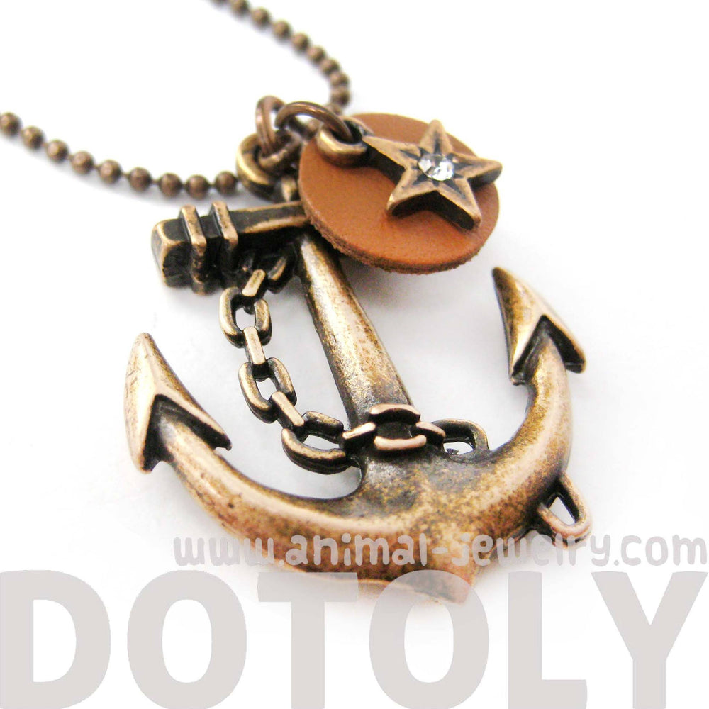 classic-anchor-shaped-nautical-themed-charm-necklace-in-bronze-dotoly