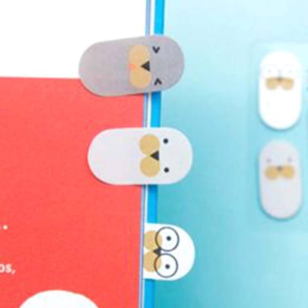 Cute Walrus Shaped Animal Themed Memo Post-it Sticky Bookmark Tabs