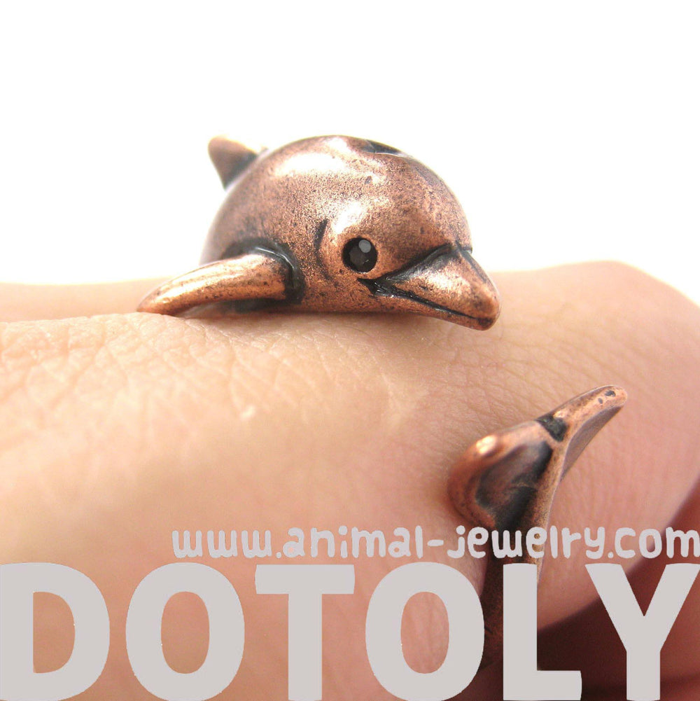 dolphin-sea-animal-3d-wrap-around-realistic-ring-in-copper-size-5-to-10