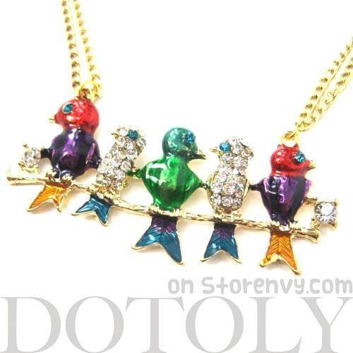 colorful-birds-on-a-branch-animal-pendant-long-necklace