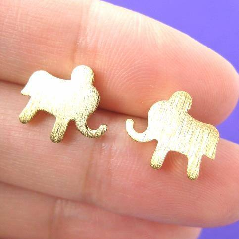 simple-elephant-animal-stud-earrings-in-gold-with-sterling-silver-earring-posts