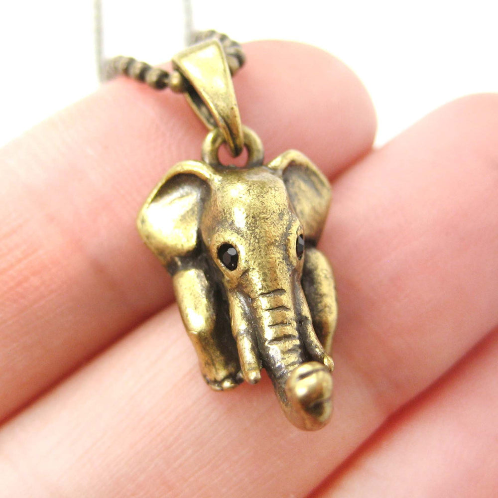 elephant-realistic-animal-charm-necklace-in-brass-animal-jewelry