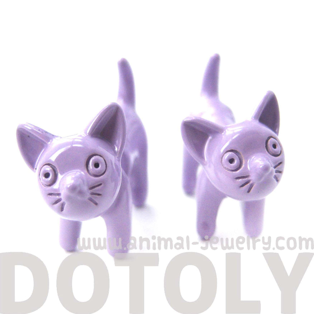 fake-gauge-earrings-adorable-kitty-cat-animal-plug-earrings-in-light-purple