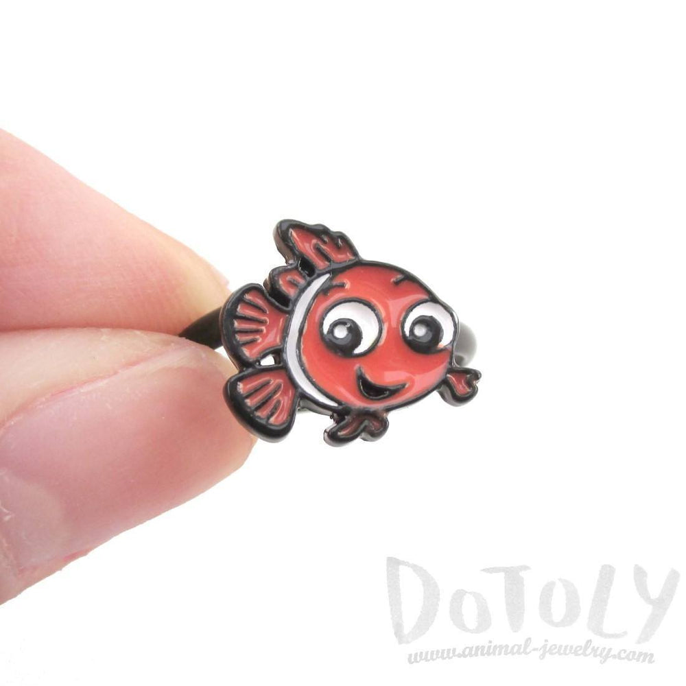 Finding Dory Nemo Clown Fish Shaped Adjustable Ring | DOTOLY | DOTOLY