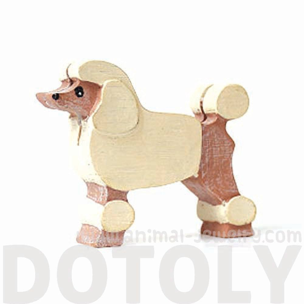 French Poodle Shaped Dog Lovers Photo Stand Business Card Holder ...