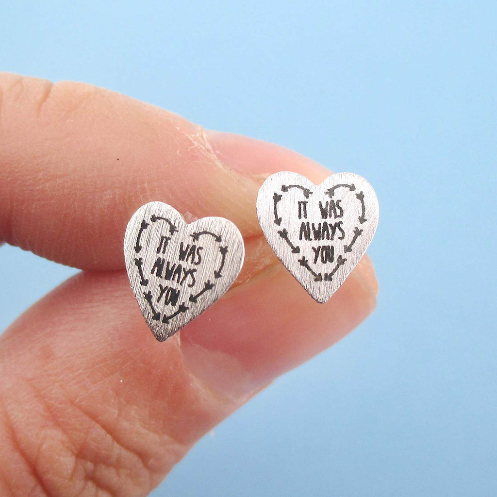 shaped heart yellow index stud studs diamond color gold white