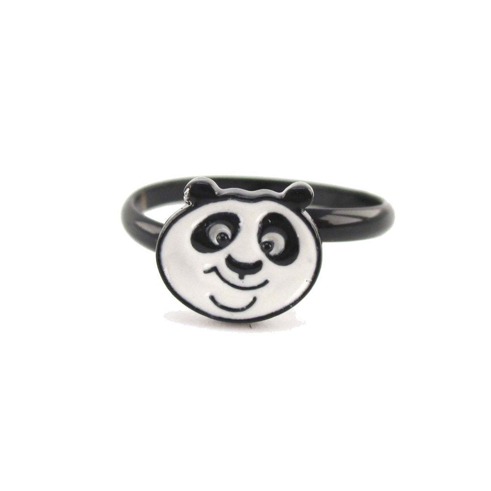 Kung Fu Panda Po Bear Shaped Adjustable Ring | DOTOLY | DOTOLY