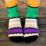 Mallard Wild Duck Bird Shaped Animal Short Cotton Socks for Women | DOTOLY