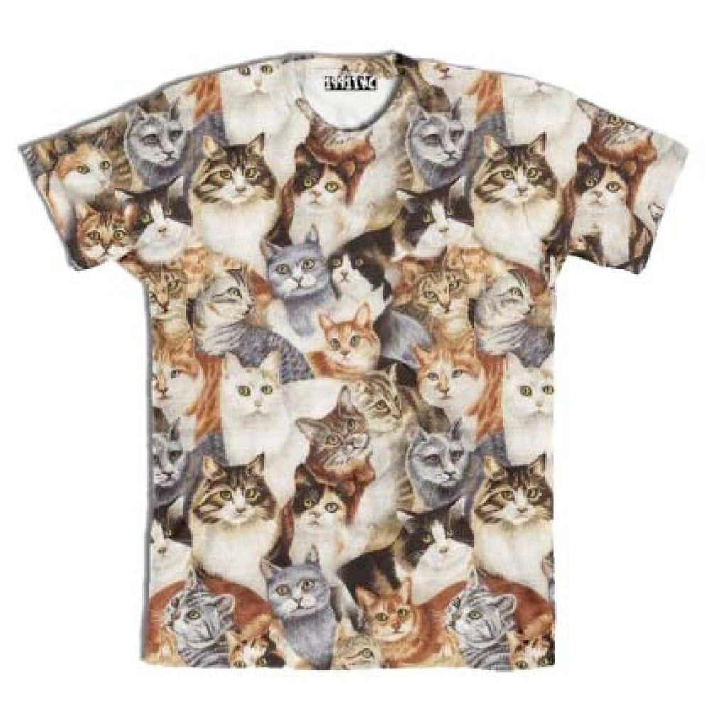 Manx Tabby Shorthair Kitty Cat Breed All Over Print Graphic T-Shirt | DOTOLY | DOTOLY