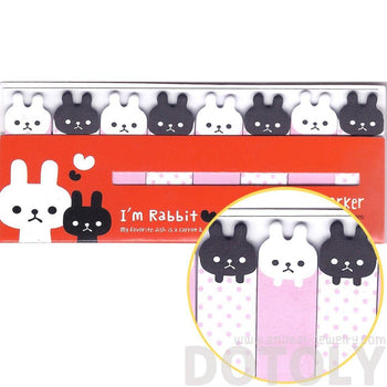 Miffy Bunny Rabbit Shaped Sticky Memo Post-it Index Bookmark Tabs | DOTOLY