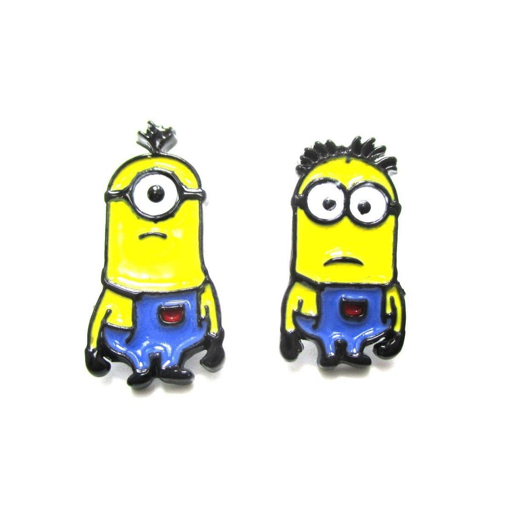 Minions From Despicable Me Mix and Match Stud Earrings | DOTOLY | DOTOLY