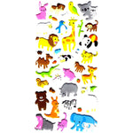 Mixed Kawaii Animal Themed Elephant Llamma Giraffe Koala Stickers for Scrapbooking | DOTOLY