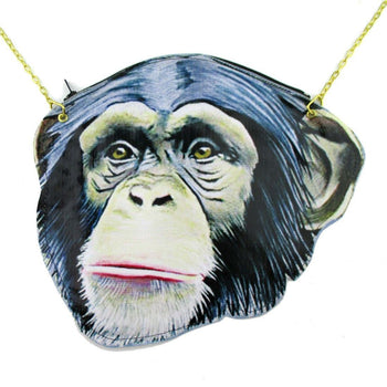 Monkey Chimpanzee Face Shaped Vinyl Animal Themed Cross Body Bag | DOTOLY | DOTOLY