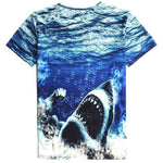 Muscle Shark Deep Sea Shark Week Unisex Graphic Tee | DOTOLY | DOTOLY