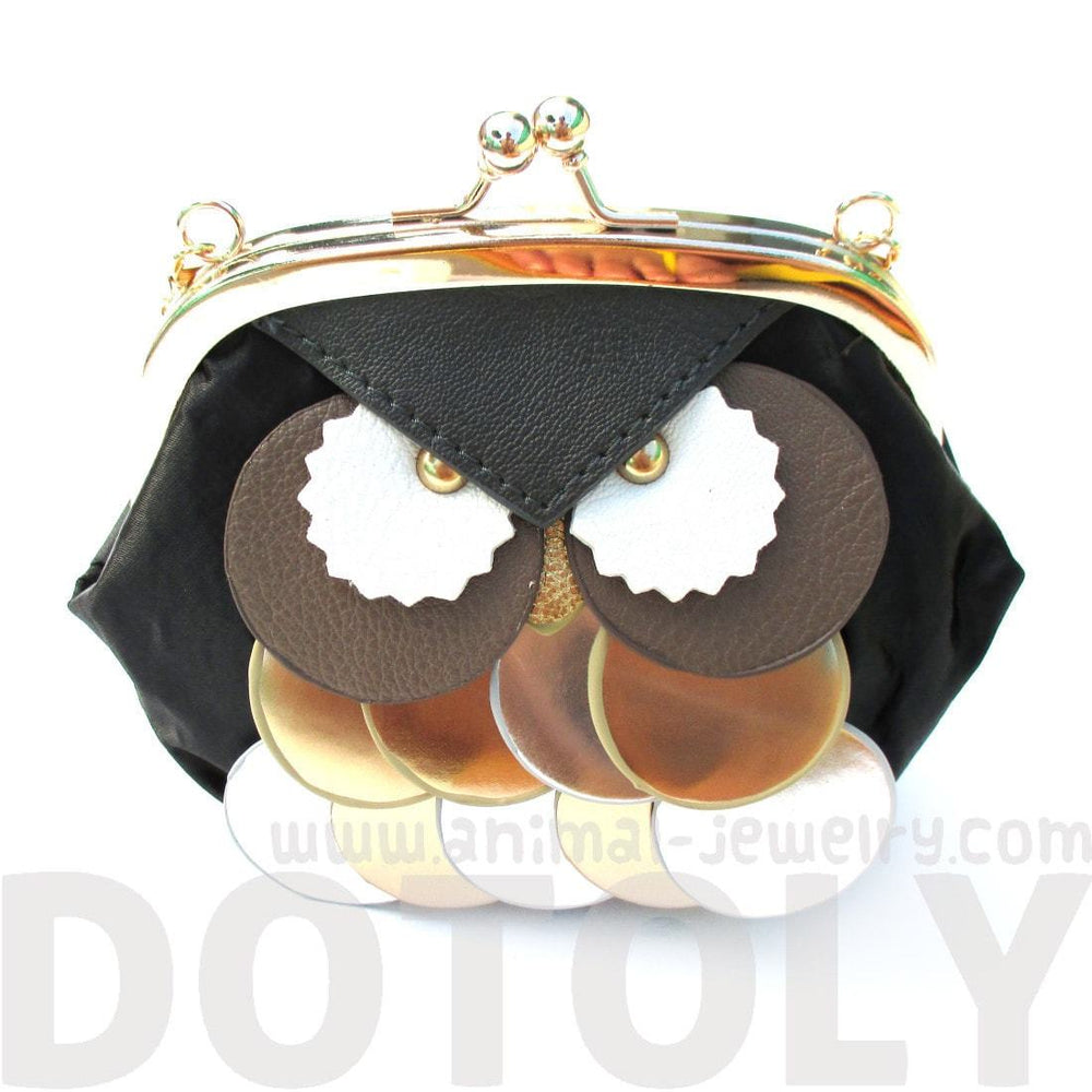 Owl Shaped Animal Themed Coin Purse Cross body Shoulder Bag for Women | DOTOLY | DOTOLY