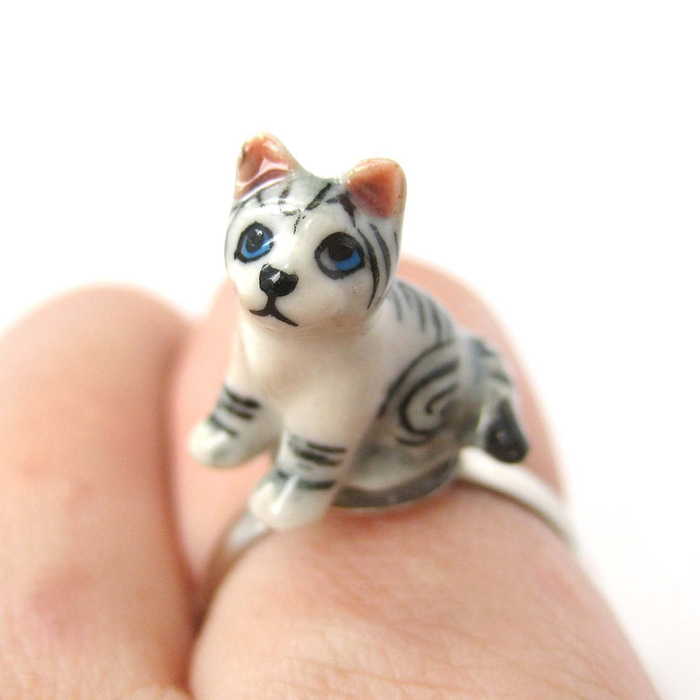 porcelain-ceramic-adorable-kitty-cat-animal-adjustable-ring-handmade