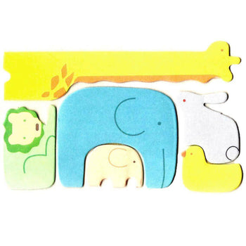 Safari Animal Themed Elephant Giraffe Lion Memo Pad Post-it Index Tab Sticky Notes | DOTOLY