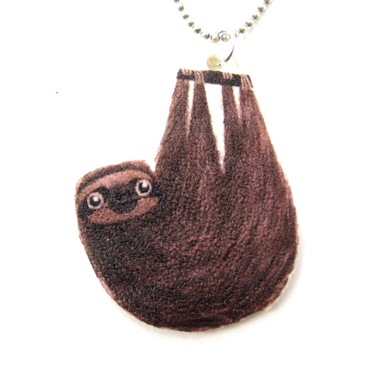 baby in gold shiny sloth dotoly necklace realistic original products pendant img thumbnail charm animal