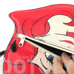 The Little Mermaid Ariel Princess Shaped Vinyl Print Cross Body Bag | DOTOLY | DOTOLY