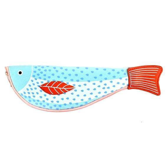 Unique Koi Fish Shaped Animal Themed Pencil Case Makeup Bag | DOTOLY | DOTOLY
